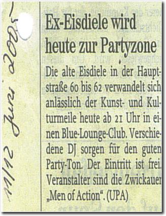 Blou Lounge 2005